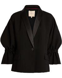 ROKSANDA Fara Puff-sleeve Jacket - Black