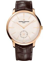 Vacheron Constantin Rose Gold Patrimony Manual-winding Watch 42mm - Metallic