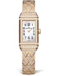 Jaeger-lecoultre Reverso One Duetto Jewellery Watch - Metallic