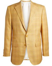 Stefano Ricci Overcheck Blazer - Yellow