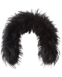 Bogner - Racoon Fur Collar - Lyst