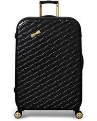 Ted Baker Bow-embossed Suitcase (79cm) - Black
