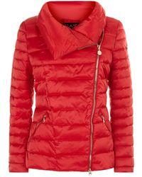 Armani - Asymmetric Padded Jacket - Lyst