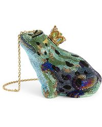 Judith Leiber Prince Charming Frog Clutch Bag - Green