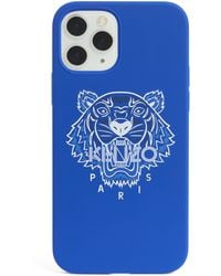 KENZO Icon Tiger Iphone 12 Pro Case - Blue