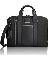 Tumi Aviano Slim Briefcase - Black