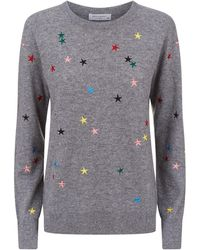 Equipment - Shane Star Embroidered Sweater - Lyst