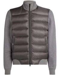 Herno Padded Front Jacket - Gray