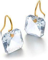Baccarat Clear Marie-hlne De Taillac Earrings - Blue