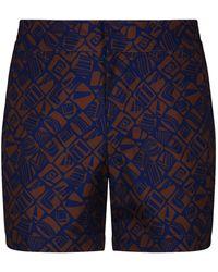 Frescobol Carioca - Telha Print Swim Shorts - Lyst