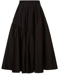 N°21 - Flare Midi Skirt - Lyst