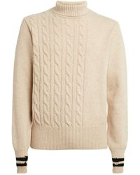 Oliver Spencer Wool Cable-knit Sweater - White