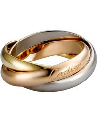 Cartier - Classic Trinity De Ring - Lyst