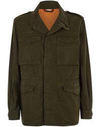 Gucci - Logo Military Jacket - Lyst