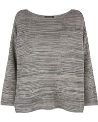 Eileen Fisher - Boxy Crop Jumper - Lyst