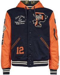 Polo Ralph Lauren P-wing Varsity Jacket - Blue