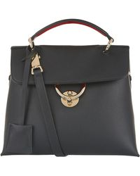 Ferragamo - Small Leather Top Handle Shoulder Bag - Lyst