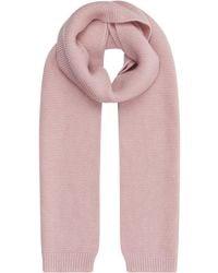 Harrods - Chunky Knit Cashmere Scarf - Lyst
