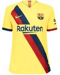 huge selection of 3dfde 67615 Fc Barcelona 2019/20 Vapor Away Football Shirt - Yellow