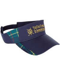 Harrods - St Andrews Tartan Golf Visor - Lyst