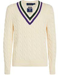 Polo Ralph Lauren Cricket Sweater - Natural