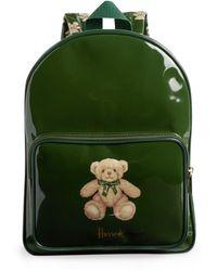 Harrods Jacob Bear Backpack - Green