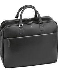 Montblanc Large Leather Sartorial Document Case - Black