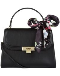 Harrods - Alice Bag With Floral Scarf - Lyst