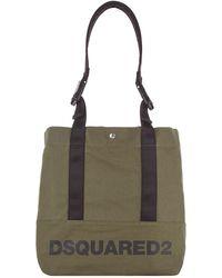 DSquared² - Detachable Handle Logo Tote Bag - Lyst