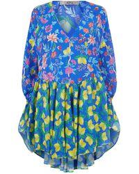 Lazul - Tana Silk Dress - Lyst