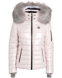 Sportalm Fur-trim Padded Ski Jacket - Red