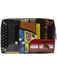 Harrods Piccadilly Cosmetic Bag - Multicolour