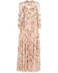 Needle & Thread Garland Flora Gown - Pink