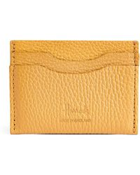 Harrods Leather Card Holder - Yellow