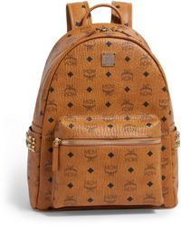 MCM Small-medium Stark Backpack - Brown