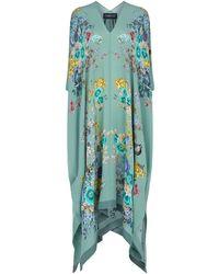 Meng Printed Silk Maxi Dress - Green