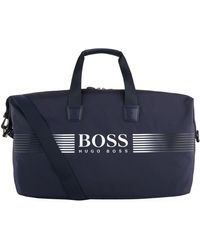 BOSS Green - Logo Holdall Bag - Lyst