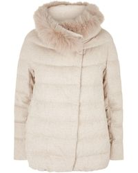 Herno - Cashmere Padded Jacket - Lyst