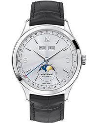 Montblanc - Heritage Chronomtrie Quantime Complet Watch - Lyst