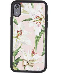 Dolce & Gabbana - Floral Print Iphone Xr Case - Lyst