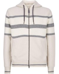 Herno Knitted Hoodie - Green