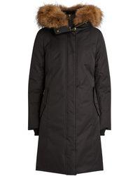 Mackage - Harlowe Fur-trimmed Coat - Lyst