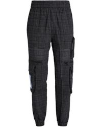 McQ - Check Cargo Trousers - Lyst