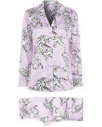 Olivia Von Halle - Lila Una Silk Pyjama Set - Lyst