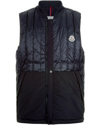 Moncler - Doubs Quilted Vest - Lyst