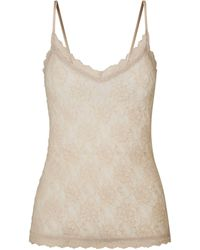 Hanky Panky Lace Camisole - Natural