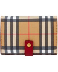 Burberry - House Check Wallet - Lyst