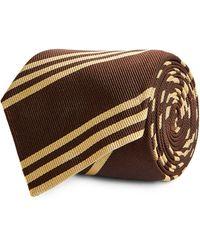 Brunello Cucinelli Silk Tie - Brown