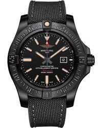 Breitling - Titanium Avenger Blackbird Watch 48mm - Lyst