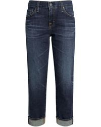 AG Jeans Ex-boyfriend Relaxed Jeans - Blue